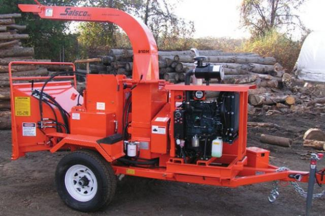 10 Inch Tree Chipper 30 Hp Diesel Rentals Calgary Ab